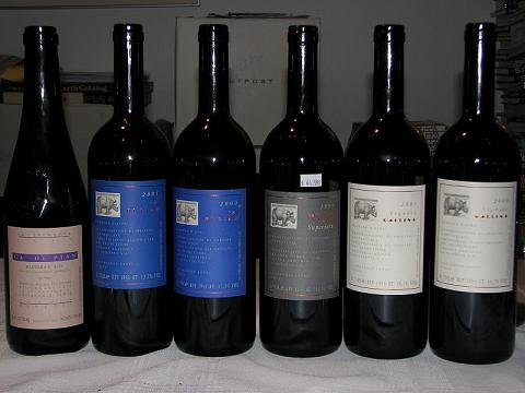 Aging Barbera wines from Piemonte