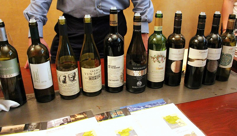  Italian reds and whites tasting with Brian Larky of Dalla Terra