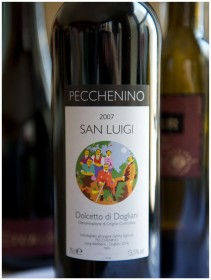 San Luigi Dolcetto di Dogliani 2007 211x280 Dolcetto di Dogliani  Vini DOC Italian